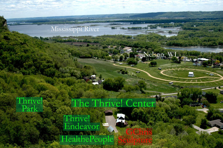 The Thrive! Center - bluff view